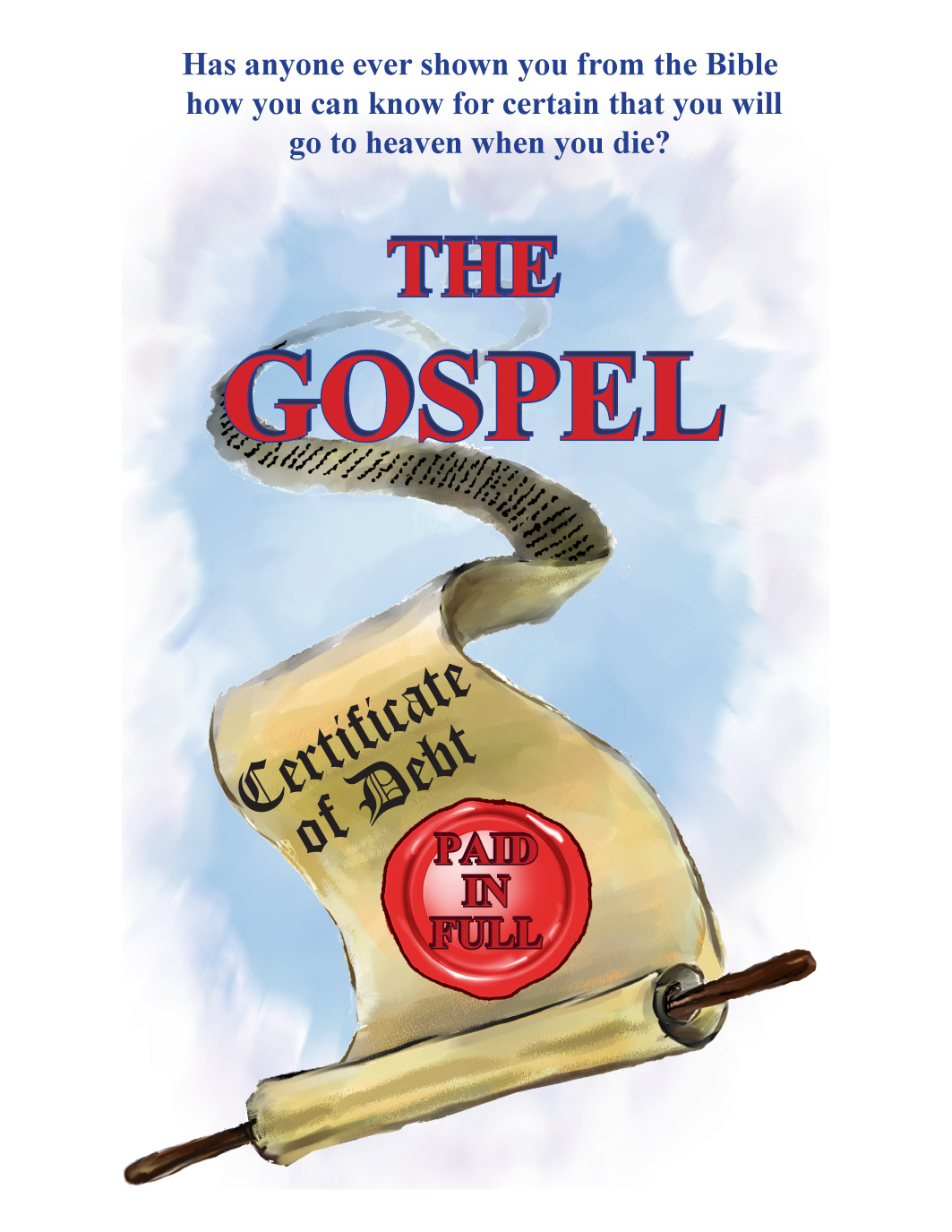 gospel booklet pages 2 3